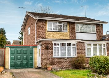 Thumbnail 2 bed semi-detached house for sale in Broadwas Close, Church Hill, Redditch
