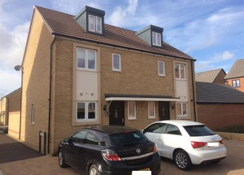 Thumbnail 3 bedroom semi-detached house for sale in Kite Way, Hampton Vale, Peterborough