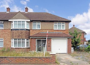 Thumbnail 4 bed end terrace house for sale in Heron Way, Upminster, Essex