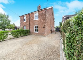 Thumbnail 3 bedroom semi-detached house for sale in Swan Street, Chappel, Colchester