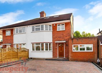 Thumbnail 4 bed semi-detached house to rent in Boldmere Road, Pinner