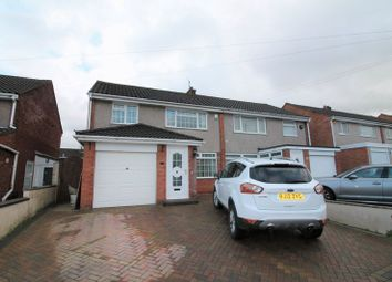 Thumbnail 3 bed semi-detached house to rent in Parkwood Close, Whitchurch, Bristol