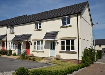 Thumbnail 2 bed end terrace house for sale in Haye Common Drive, Launceston