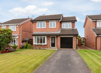 Thumbnail 4 bed detached house for sale in Evesham Grove, Hurworth, Darlington