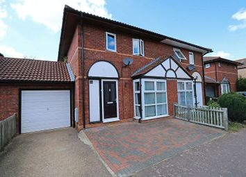 Thumbnail 3 bedroom semi-detached house for sale in Redding Grove, Crownhill, Milton Keynes