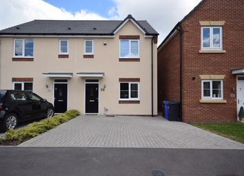 Thumbnail 3 bed semi-detached house to rent in Thorntree Lane, Branston, Burton-On-Trent