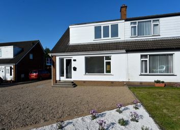 Thumbnail 3 bed semi-detached house for sale in Robinson Road, Bangor