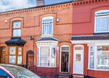Thumbnail 2 bed terraced house for sale in Barrows Road, Sparkbrook, Birmingham