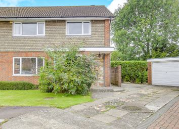 Thumbnail 3 bed semi-detached house for sale in Applefield, Northgate, Crawley