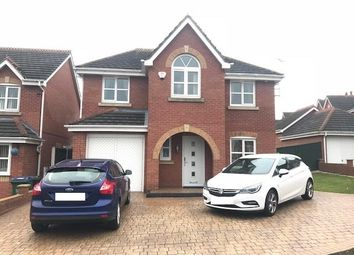 Thumbnail 4 bed detached house to rent in Hodgkiss Close, Darlaston, Wednesbury