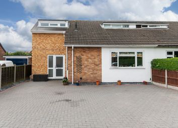 Thumbnail 3 bed semi-detached bungalow for sale in The Green, Long Whatton, Long Whatton, Leicestershire