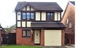 Thumbnail 3 bedroom detached house for sale in Hever Drive, Liverpool