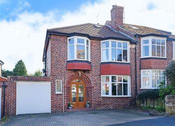 Thumbnail 4 bedroom semi-detached house for sale in Kingsley Park Avenue, Millhouses, Sheffield