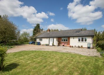 Thumbnail 4 bed detached bungalow for sale in Main Street, Shudy Camps, Cambridge