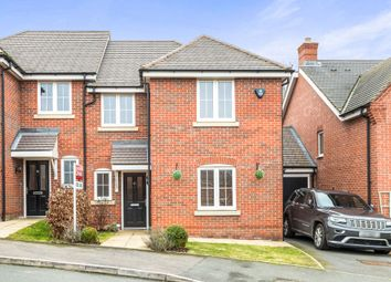Thumbnail 4 bed semi-detached house for sale in Manders Croft, Southam