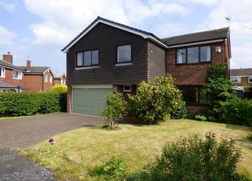 Thumbnail 5 bedroom detached house for sale in Henshall Drive, Sandbach