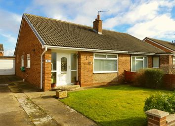 Thumbnail 2 bedroom semi-detached bungalow for sale in Carlbury Avenue, Acklam, Middlesbrough