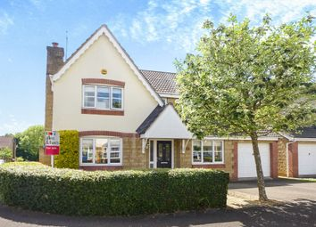 Thumbnail 4 bedroom detached house for sale in Fallow Field Close, Chippenham