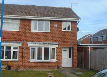 Thumbnail 3 bedroom semi-detached house to rent in Silverwood Close, Hartlepool