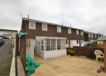 Thumbnail 3 bedroom end terrace house to rent in Frobisher Drive, Saltash, Cornwall