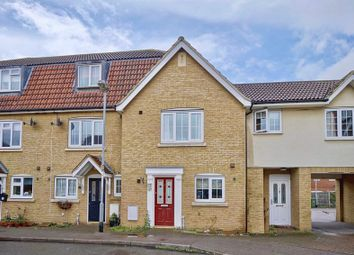 Thumbnail 3 bed terraced house for sale in Parker Close, Eynesbury, St. Neots