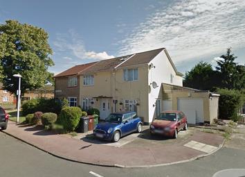 Thumbnail 1 bed flat to rent in Calverley Cres, Dagenham