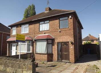 Thumbnail 3 bedroom semi-detached house for sale in Wilson Road, Chaddesden, Derby, Derbyshire