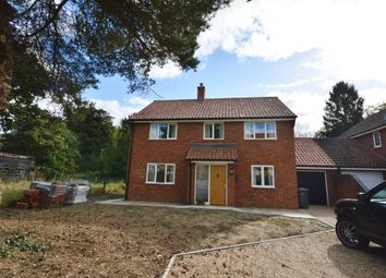 Thumbnail 4 bed detached house to rent in Aldecar Lane, Benhall, Saxmundham