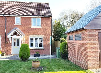 Thumbnail 3 bed end terrace house for sale in Halton Crescent, Wroughton, Swindon