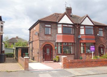 Thumbnail 3 bed semi-detached house for sale in Paddock Lane, Manchester