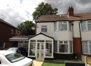 Thumbnail 5 bed semi-detached house for sale in Hilbre Road, Manchester, Greater Manchester, Uk
