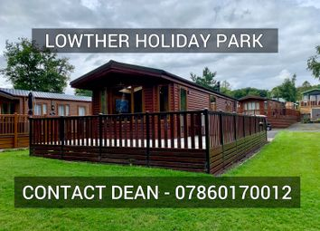 Thumbnail 2 bed lodge for sale in Lowther Holiday Park, Penrith, Cumbria