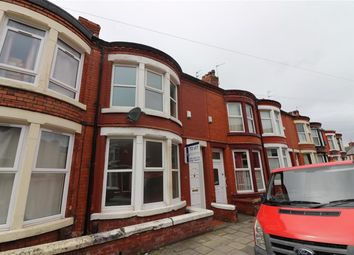 Thumbnail 3 bed terraced house to rent in Eastcroft Road, Wallasey