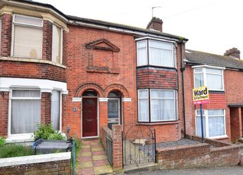 Thumbnail 3 bed terraced house for sale in Stanhope Road, Dover, Kent
