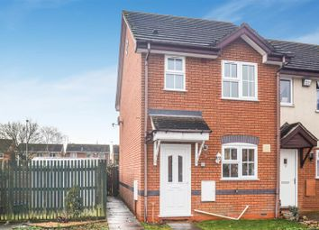 Thumbnail 2 bed end terrace house for sale in Merganser Drive, Bicester