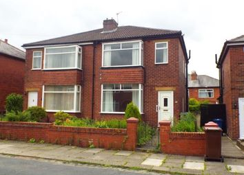 Thumbnail 2 bed semi-detached house for sale in Wolstenholme Avenue, Bury, Greater Manchester