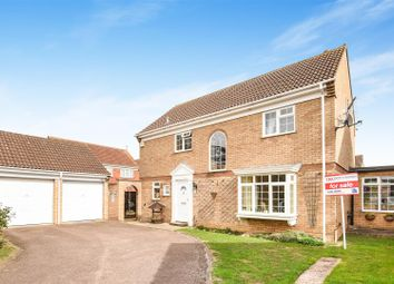 Thumbnail 4 bed detached house for sale in Norfolk Road, St. Ives, Huntingdon