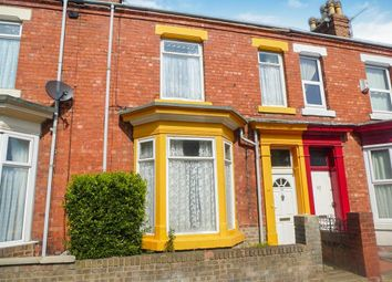Thumbnail 3 bed terraced house for sale in Carlton Street, Hartlepool