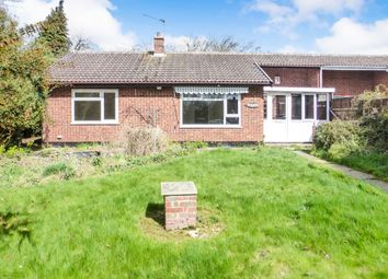 Thumbnail 2 bedroom terraced bungalow for sale in Shillito Road, Blofield, Norwich