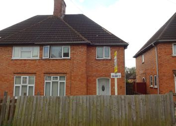 Thumbnail 3 bedroom semi-detached house for sale in Winstanley Drive, Braunstone, Leicester
