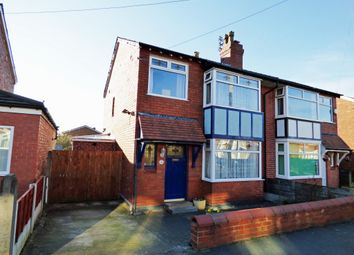 Thumbnail 3 bed semi-detached house for sale in Borth Avenue, Offerton, Stockport