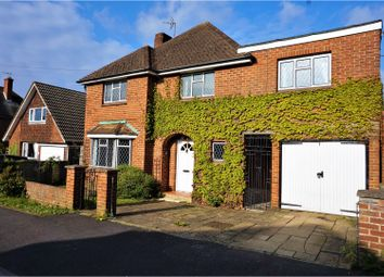 Thumbnail 4 bed detached house for sale in Downsland Road, Basingstoke