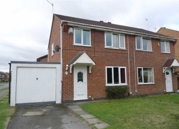 Thumbnail 3 bed semi-detached house for sale in Hawkins Court, Ilkeston, Derbyshire