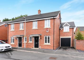Thumbnail 3 bed town house for sale in Manders Croft, Southam