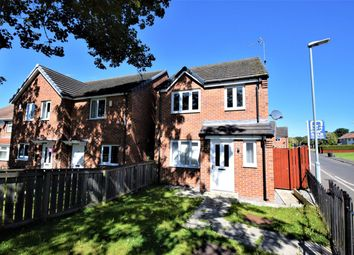 Thumbnail 3 bed detached house for sale in Fairbairn Road, Peterlee, County Durham