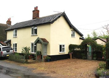 Thumbnail 2 bedroom cottage for sale in Mellis Road, Thrandeston, Diss