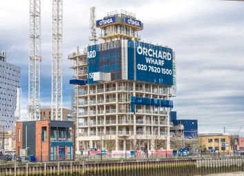 Thumbnail 1 bedroom flat for sale in Orchard Wharf, Silvocea Way, London