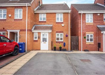 Thumbnail 3 bed end terrace house for sale in Springfield Road, Rugeley