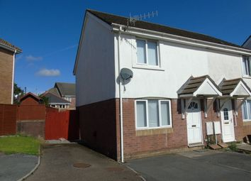 Thumbnail 2 bed semi-detached house to rent in Brynhyfryd, Llangennech, Llanelli