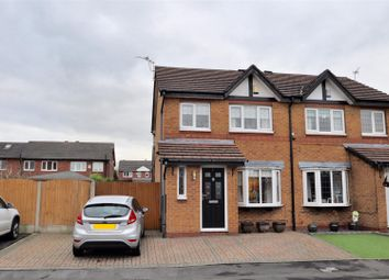 Thumbnail 3 bed semi-detached house for sale in Exeter Close, Dukinfield